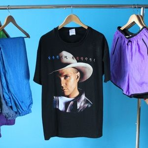Vintage 1996 Garth Brooks Tour Band T-Shirt